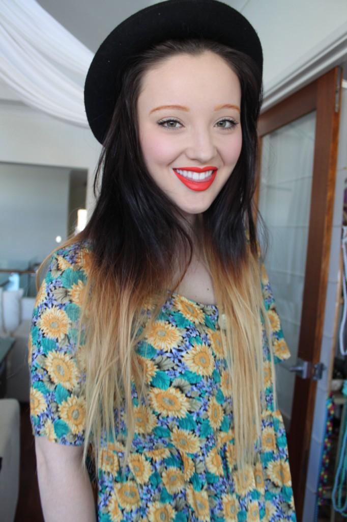 dip dye hair black to brown - photo #31