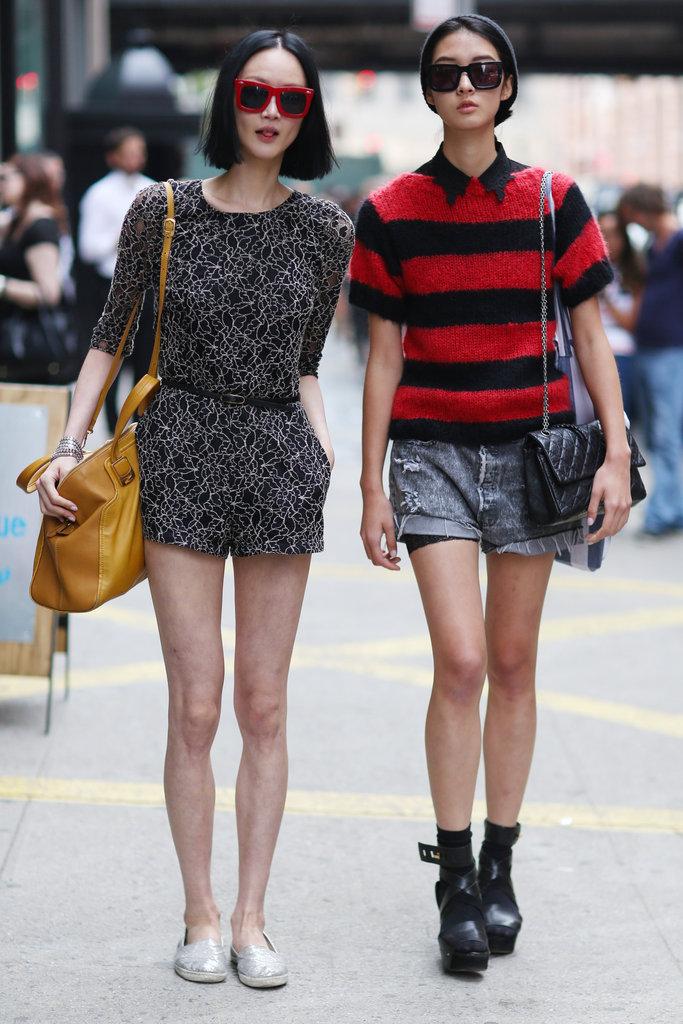 New york fashion week street st